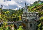 Sanctuaire de Las Lajas en Colombie