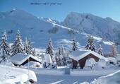 Manigod (74) sous la neige
