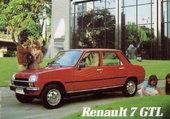RENAULT 7 GTL IMPORTATION ESPAGNE