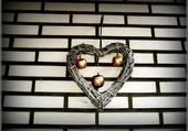 Coeur et pommes dorées
