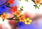 petites fleurs délicates