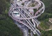 Puzzle tourbillon de route
