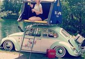 VW COCCINELLE  CAMPING