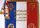 Armée Française  ,  Drapeau Légion