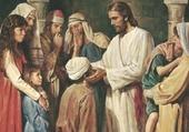 Jésus rendant la vue à un aveugle