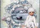 sous la neige en caléche