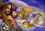 Puzzle Les ailes de l'amour