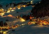 Nuit de neige