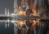 Magnifique reflet lumineux...