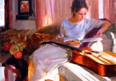 La violoncelliste (Volegov)