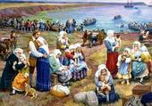 Cl. Picard, La déportation des Acadiens