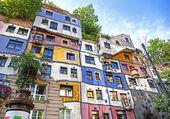 Immeuble insolite à Vienne