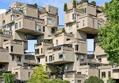 Puzzle Habitat 67 à Montréal