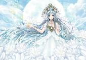 Jeune déesse