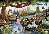 rassemblement d'animaux