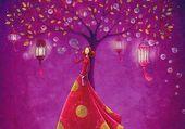 Mila Marquis Lanternes et bulles