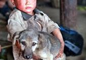 le chien et l'enfant