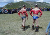combattant mongol