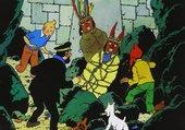 Puzzle Tintin - Le Temple du Soleil