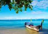 barque sur l'eau