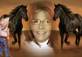 création avec des chevaux