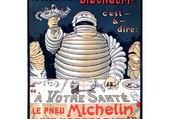 Publicité Michelin Pneu Bidendum