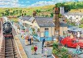 Puzzle La gare du village