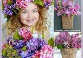 Puzzle couronne de lilas