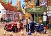 Puzzle Garage du village