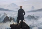 L'homme contemplant la mer de nuage