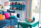 Puzzle couleur salon