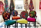 fauteuil color