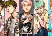 BTS Run fanart