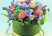 Boite de fleurs