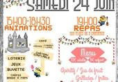 Kermesse de l'école de Quéménéven
