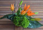 Jolie petite composition florale
