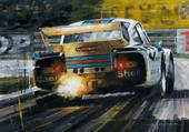 une Porsche au Mans