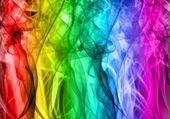 fumées multicolores