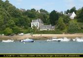 Maison de G.Brassens Lézardrieux