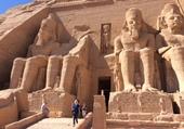 Temple d'Abou Simbel en Egypte