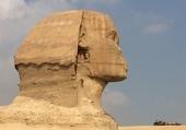 Le sphinx à Gizeh Egypte