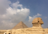Sphinz/ pyramide de Kéops - Gizeh Egypte