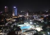 Puzzle Le Caire by night vu de l'hôtel