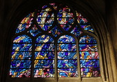 Vitrail église Saint SEVERIN à PARIS