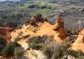 Colorado à Roussillon de Provence