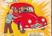 Tintin et la Panhard