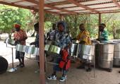 Concert à la Plage de Mayreau, Antilles