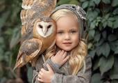 Puzzle l'Enfant & l'Oiseau