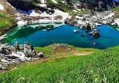 Puzzle le petit lac de montagne