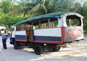 Bus à Trinidade aux Antilles